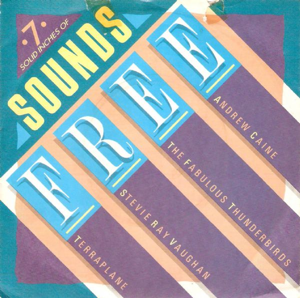 7 Solid Inches Of Sounds Free EP Vinyl Record 7 Inch Epic 1986